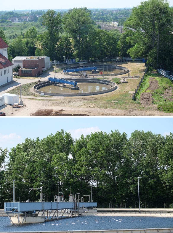 Becken im Klärwerk Hannover-Herrenhausen Welcome Spy