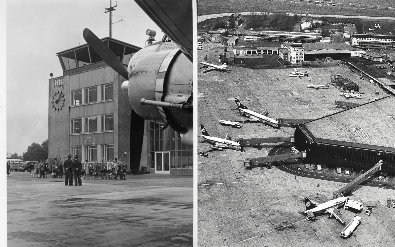 Historische Aufnahmen vom Flughafen Hannover-Langenhagen WELCOMESPY