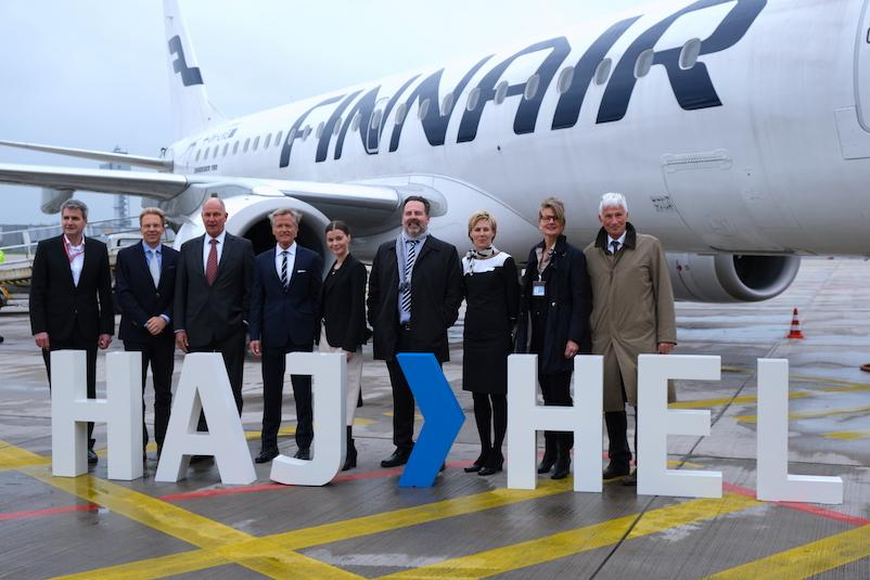 Finnair-Hannover-Airport-Gruppenfoto