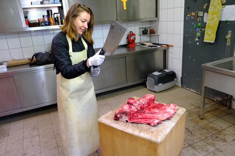Zubereitung-Fleisch-Wolf