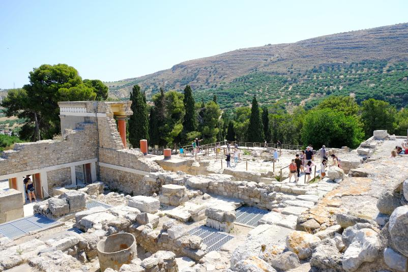 Ausgrabungsstätte-Knossos