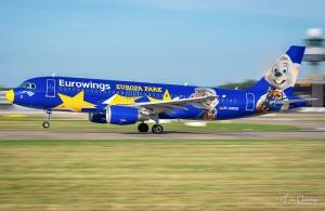 Eurowings A320 Europa Park in Hannover