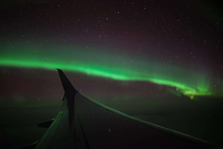 Gruenes Polarlicht Peter Oden